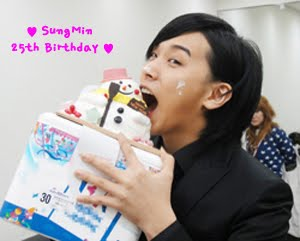 Ini, beberapa pic bonus special Ulang tahun Sungmin!!