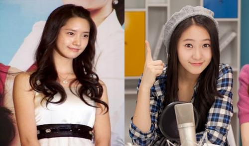 Chi Xian's Blog: K-Pop Look Alike… Krystal Jung And Yoona Look Alike